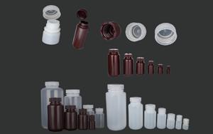 高品质 100%防渗漏  广口塑料试剂瓶